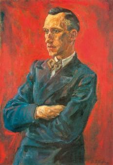 Ernst Jünger-Portrait (Kunstdruck) 1929