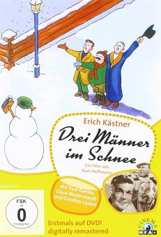 DVD, Drei Männer im Schnee
