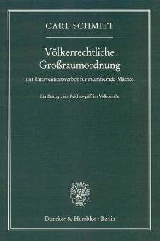Völkerrechtliche Großraumordnung