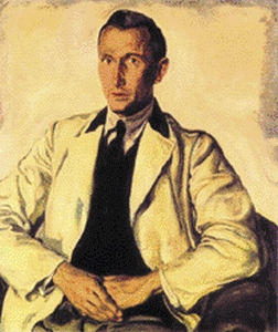 Ernst Jünger-Portrait (Kunstdruck) 1935