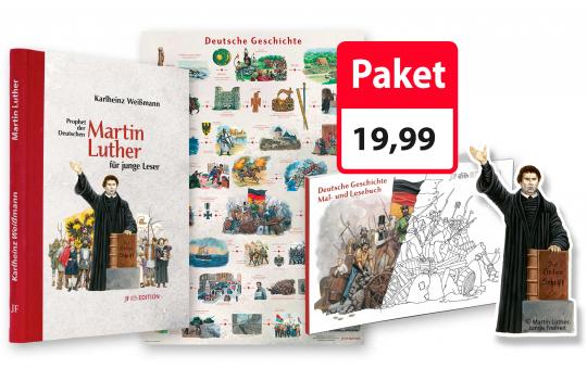 Paket Martin Luther für junge Leser