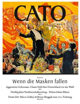 CATO 05/2021 - Wenn die Masken fallen