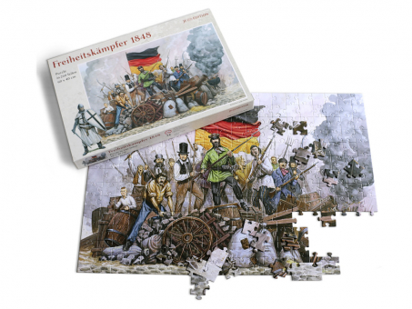JF-Puzzle Motiv Freiheitskämpfer 60 x 40 cm