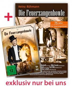 DVD, Die Feuerzangenbowle (Set enthält DVD+ Filmplakat)