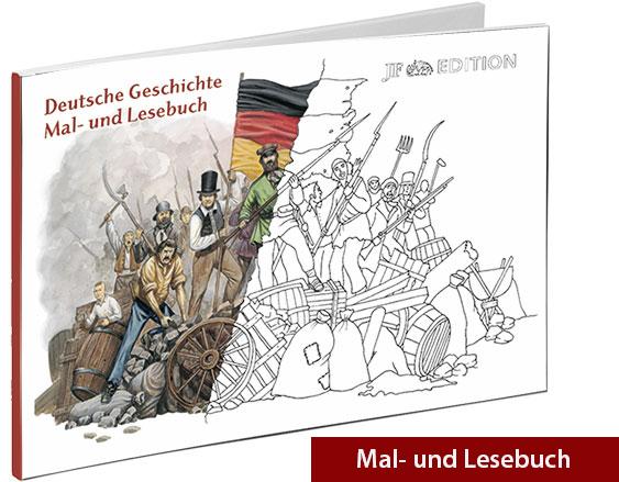 Mal- und Lesebuch Deutsche Geschichte