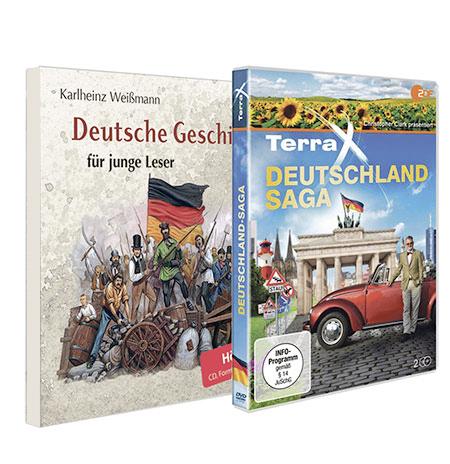 Paket Deutschland Hörbuch und DVD