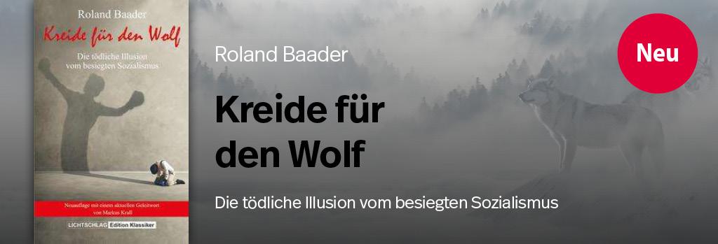 TEASER - Baader - Kreide für den Wolf