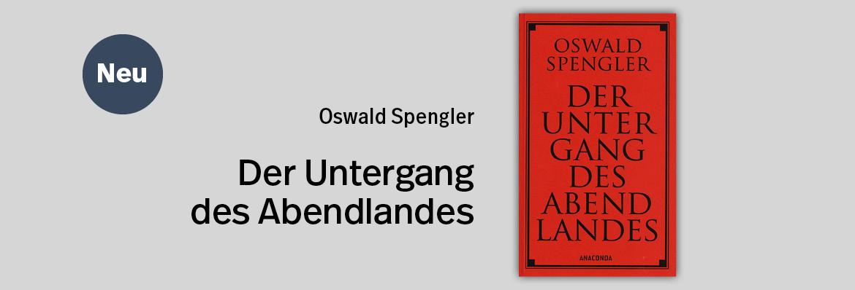 TEASER - Spengler - Abendland